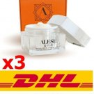 3 x ALESE PREMIUM HORSE OIL SNAIL WHITE CREAM Skin care products