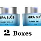 2X HIRA BLUE Day Night Water Cream Face Whitening Lightening Moisturi