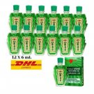 12X Eagle Brand Medicated Oil Aches Pain Relief Refreshing Sprains 6m