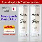 2x Monte First 2 Care Skin Natural Serum Japan Reduce Restore Frec