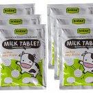 ROSCELA Compressed Milk Tablet Candy 20 g (Pack of 6)