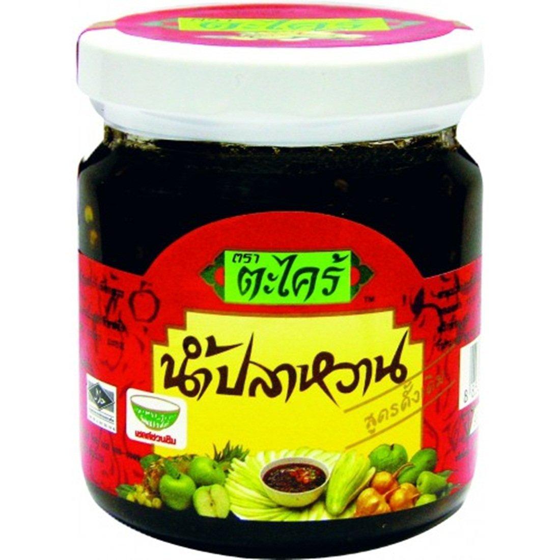 2x Dipping Sauce Nam-pla Wan Original Taste 8 Oz. (Glass Jar)