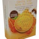 4x Maithong Royal Jelly Honey Crystal Soap, Smoothen, Soften and Brig