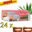 24 x Rasyan Herbal Clove Whitening Toothpaste Aloe Vera Clove Guava