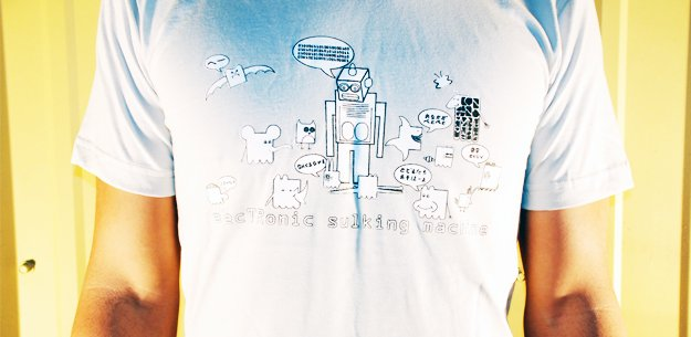 Electronic Sulking Machine T-Shirt