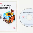 2007 Adobe Photoshop Elements 6.0.1 for Windows Retail with serial number