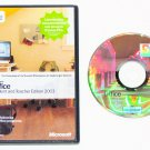 Genuine Microsoft Office Student and Teacher Edition 2003 for Windows -- 3 Licenses