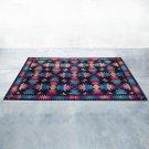 1980s Gorgeous Geometric Italian Woolen Rug by Missoni for T&J Vestor.