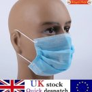 Box of 50pcs 3 Ply Disposable Surgical Face Mask Dental Earloop FFP2 FDA CE - UK Stock