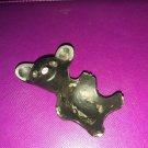 """Vintage West Germany Metal Mouse candle egg holder K21B 2 1/2"""""""