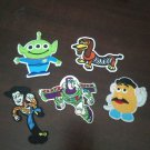 5 Disney Toy Story Patch Set Iron Sew on