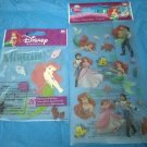 2 pkgs Disney EK Success Ariel Mermaid Stickers
