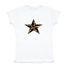 Leopard Print Punk Star Girl Tee