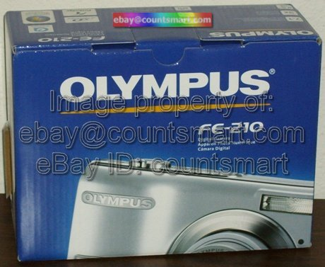 NEW Olympus FE-210 7.1 MP 7MP Digital Camera 3x Zoom