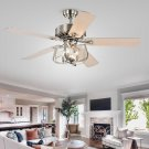 Mobley 5 Blade Ceiling Fan with Remote, Light Kit Included