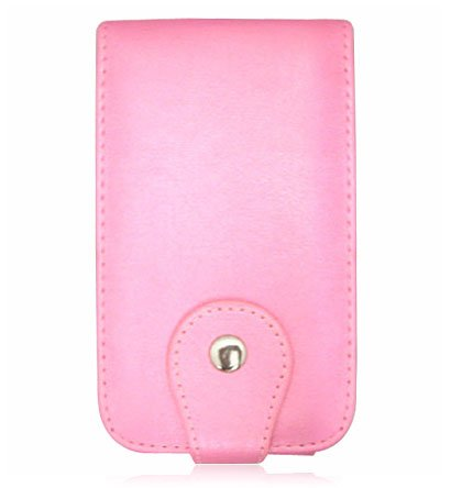 Apple iPhone Pink Leather Case - M Series