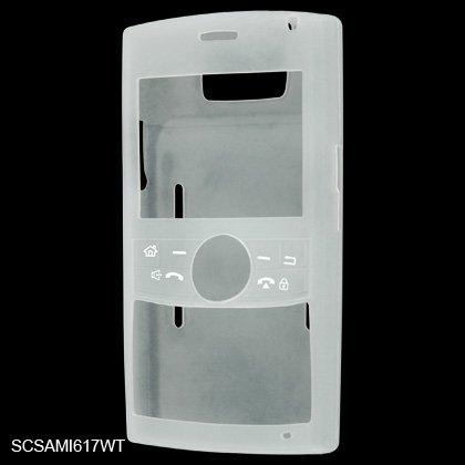 Silicone Skin Cover Case for Samsung BlackJack II i617 - Clear