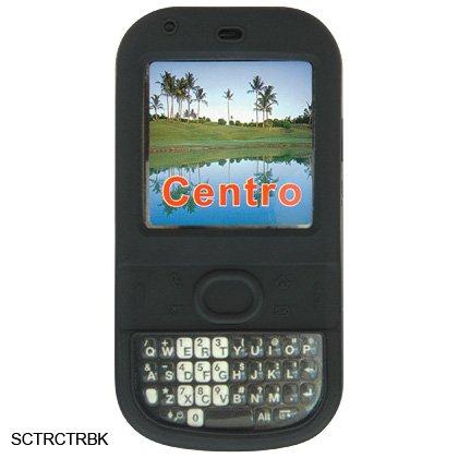 Black Silicone Skin Cover Case for Palm Centro