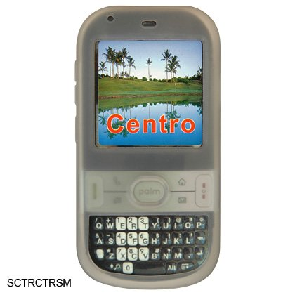 Gray Silicone Skin Cover Case for Palm Centro