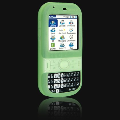 Green Silicone Skin Cover Case for Palm Centro