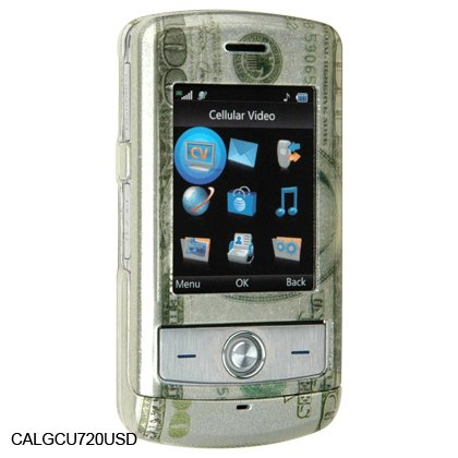 Hard Shell Crystal Shield Protector Case for LG Shine CU720 - US Dollar