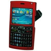 Samsung BlackJack II SGH-i617 Red Hard Shield Protector Case w/ Detachable Clip