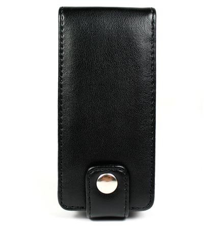 Leather Pouch Case for Microsoft Zune 4GB / 8GB - Black
