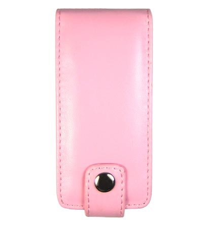 Leather Pouch Case for Microsoft Zune 4GB / 8GB - Pink