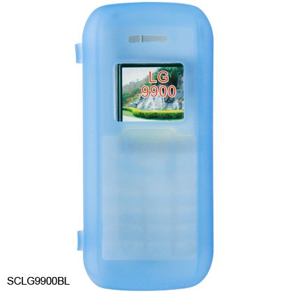 Silicone Skin Cover Case for LG enV VX9900 - Blue