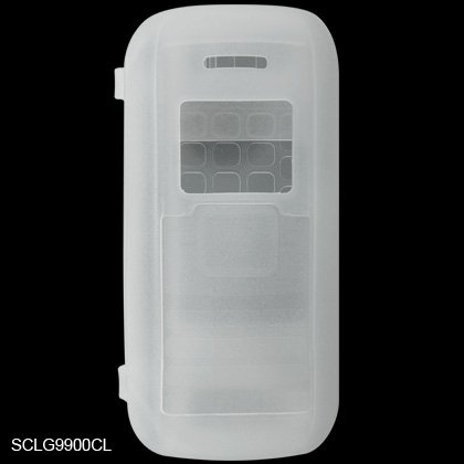 Silicone Skin Cover Case for LG enV VX9900 - Clear