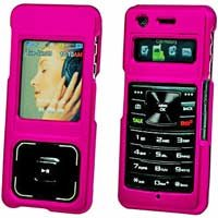 Samsung UpStage M620 Hot Pink Hard Plastic Proguard Shield Protector Case