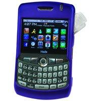Hard Shell Plastic Shield Protector Case for RIM BlackBerry 8330 CURVE - BLUE
