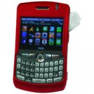 Hard Shell Plastic Shield Protector Case for RIM BlackBerry 8330 CURVE - RED