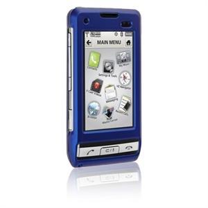 Hard Plastic Shield Protector Faceplate Case for LG DARE VX-9700 - BLUE
