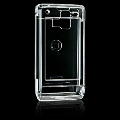 Clear Crystal Shield Protector Case for LG Dare VX9700 - Transparent