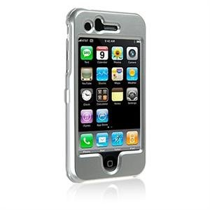 Hard Plastic Shield Protector Faceplate Case for Apple iPhone 3G - SILVER