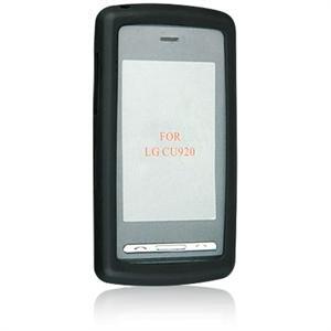 Silicone Skin Cover Case for LG VU CU915 / CU920 - BLACK
