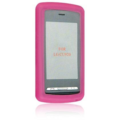 Silicone Skin Cover Case for LG VU CU915 / CU920 - Hot PINK