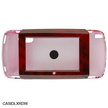 Crystal Shield Protector Case for Sidekick LX Cell Phone - Redwood