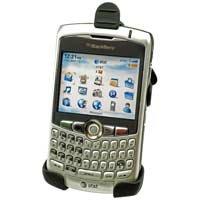 BlackBerry Curve 8300 Black Rubberized Elite Holster
