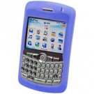 BLUE RIM Blackberry 8300 Curve Silicone Case