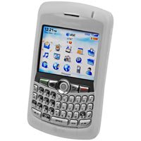 CLEAR RIM Blackberry 8300 Curve Silicone Case