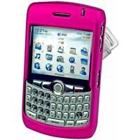Blackberry 8300 8310 8320 Curve Hard Plastic Proguard Case - Hot Pink