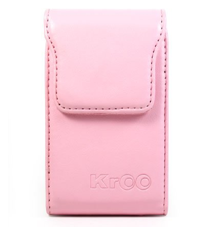 PINK Magnetic Closure Leather Case for Blackberry Curve 8300 Series