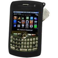RIM Blackberry 8310, 8320, & 8330 Curve Black Jelly Case