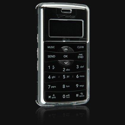 Crystal Shield Protector Case for LG VX9100 enV2 - Transparent