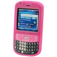 Soft Rubber Silicone Skin Cover Case for Palm Treo 800w - PINK