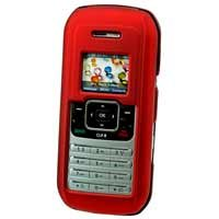 LG enV VX-9900 Hard Plastic Proguard Cell Phone Case - Red