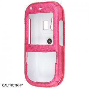 Pink Leatherette Shield Protector Case for Palm Centro