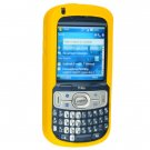 Full View Soft Silicone Skin Cover Rubber Case for Palm Treo 800W - YELLOW
